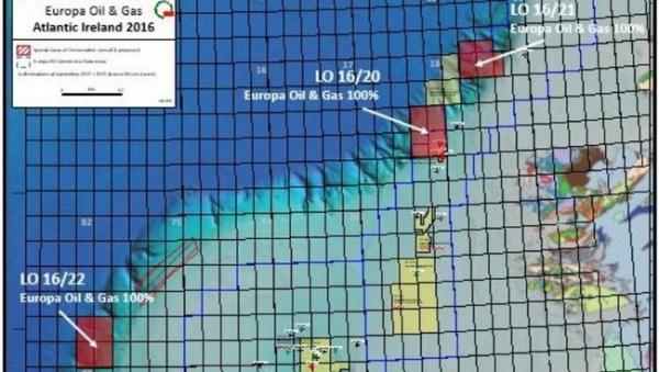 Offshore Oil Drilling Success off Ireland