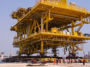 Largest Offshore Tie-In Platform Completed in Saudi Arabia
