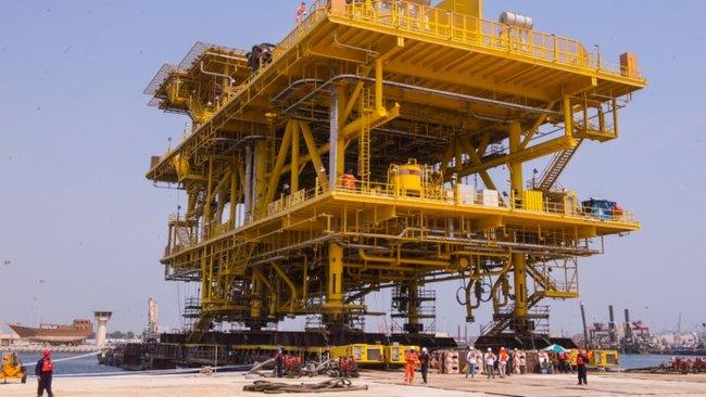 Largest Offshore Tie-In Platform Completed in Saudi Arabia