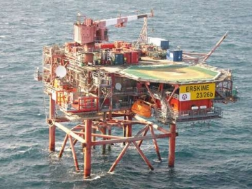 Production Resumes at North Sea Erskine Field