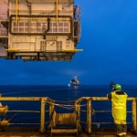WATCH: Gina Krog Heavy Lift in the North Sea
