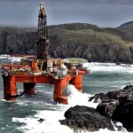 Transocean Grounded Rig Receives Salvage Team
