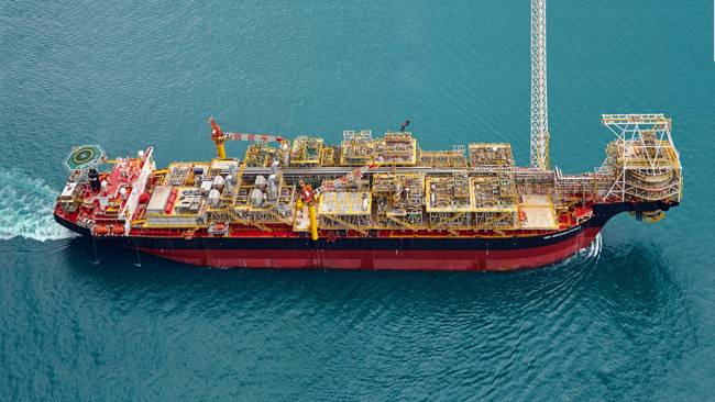 Tollow Oil Operated TEN FPSO