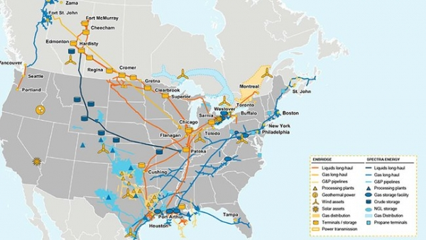 North American Firms Merge into Infrastructure Giant