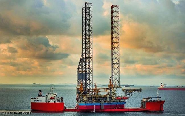 Maersk Highlander Jackup Drilling Rig