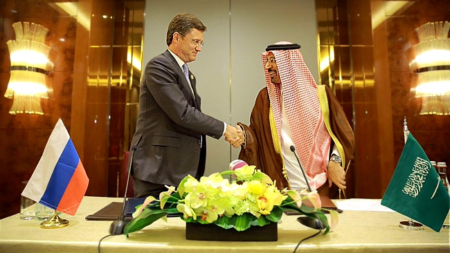 Oil Price Stabilised by Russia Saudi Arabia Oil Ministers
