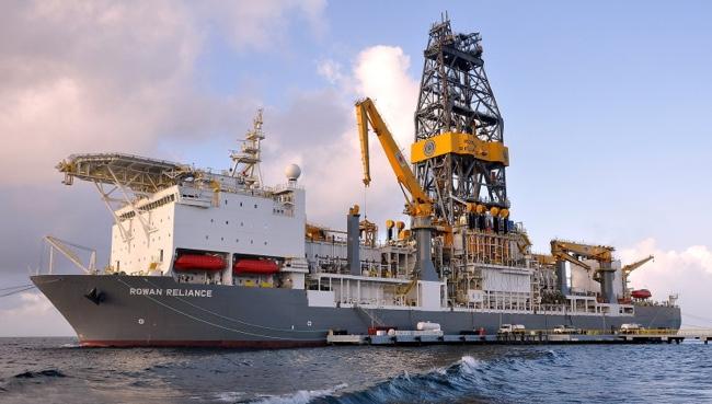 Rowan Reliance Drillship
