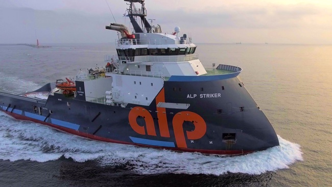 PHOTOS: ALP Striker Completes Sea Trials