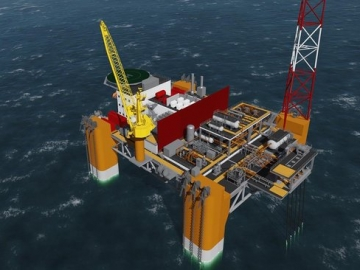 VIDEO: Aker Solutions' New Semi-Submersible Rig