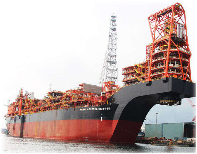 PHOTOS: Keppel Corp Giant FPSO Almost Ready