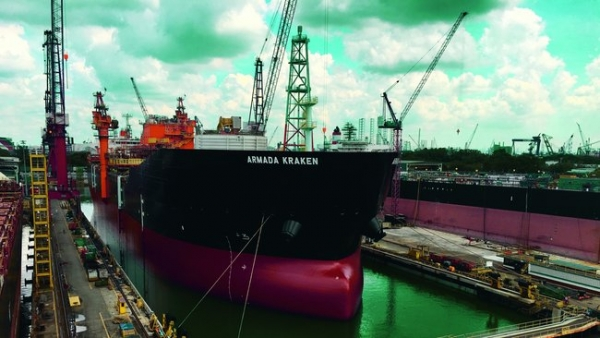 Kraken FPSO Sets Sail to the North Sea