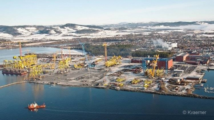WATCH: Johan Sverdrup Structures Ready for Installation