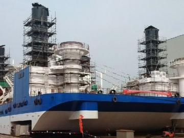 PHOTOS: Newbuild Liftboat Launched in China