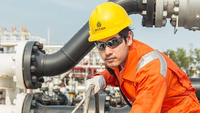 PTTEP Oil Worker