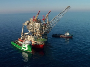 Leviathan Gas Ready By Early 2017